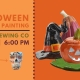Falloween Pottery Painting at Echo Brewing CO