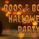 BOOS & BOOZE Halloween party 2021