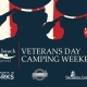 Veterans Day Camping Weekend