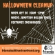 Halloween Cleanup