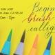 Brush Lettering Calligraphy Workshop San Jose- Halloween Art Lettering