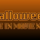 Halloween Drive in Movie 8 PM Showing