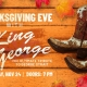 Thanksgiving Eve with King George at Legacy Hall