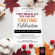 First Annual ALL YOU CAN EAT Tasting Celebration