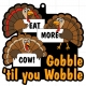 2021 Gobble Til You Wobble 5K 10K 13.1 26.2-Participate from Home. Save $5