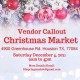 Christmas Market Vendor Callout