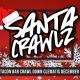 Santa Crawlz down Clematis Street - A West Palm Beach SantaCon