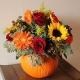 Pumpkin Love - Festive Fall Florals at Sweet Home Salvage