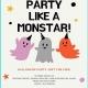 Party Like A MonSTAR Halloween Bash