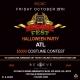 Reggae Fest ATL Halloween Party $5000 Costume Contest @Believe Music Hall