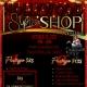 Black Hollywood Halloween Sip & Shop