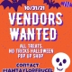 VENDORS WANTED - Halloween Expo