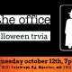 The Office Halloween Episodes Trivia at Crooked Crab Brewing Co.