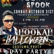 Hook X Spook - Hookah Halloween- Costume Day Party