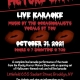 8th Annual Rocky Horror Picture Show Live Karaoke Halloween Extravaganza