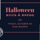 Derby Street Shops Boos & Brews Halloween Event with Untold Brewing