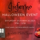 Inferno -- A Halloween Party and pop-up Art exhibit