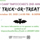 2nd Annual Timpoochee Family Trick or Treat Night