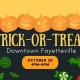 Trick-or-Treat Downtown Fayetteville 2021