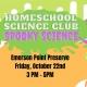 Homeschool Science Club: Spooky Science