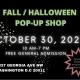 Fall / Halloween POP-UP SHOP #dcpopup #dcsmallbusiness #dcevents