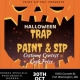 MD's hottest Paint Sip N Trap Halloween Party