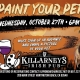 Paint your pet at Kilarneys in HB - Halloween