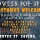 Halloween Costume Pop-Up Shop