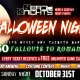 Halloween Night & Costume Karaoke Party at Dave & Buster's