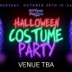 HALLOWEEN COSTUME PARTY | BU & NC's Official 2021 Halloween Event