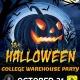 Halloween Warehouse Party