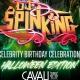 DJ SPINKING Celebrity Birthday Celebration : Halloween Edition