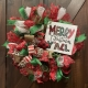 Two Glitzy Girls Merry Christmas Yall Wreath Making Workshop