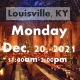 LOUISVILLE, KY: A Wizard's Christmas Dinner & Marketplace MONDAY 11AM