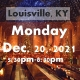 LOUISVILLE, KY: A Wizard's Christmas Dinner & Marketplace MONDAY 5:30PM