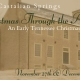 Christmas Through the Ages: An Early Tennessee Christmas at Cragfont