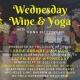 Halloween Wednesday Wine & Yoga