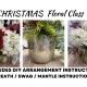 Floral Arranging for CHRISTMAS