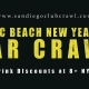 New Years Eve 2021 Pacific Beach Bar Crawl - All Access pass to 8+ Venues