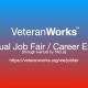 #VeteranWorks Virtual Job Fair / Career Expo #Veterans Event #North Port