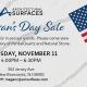 Veteran's Day Sale Event