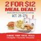 2 for $12 Meal Deal at PDQ