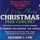 Very Merry Christmas Free Concert and Meal with Bay Area Chorus