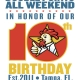 PDQ 10th Birthday Double Points Weekend!