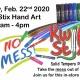 Kwik Stix Hand Art Play Day!
