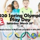 2020 Spring Olympics Play Day!