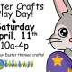 Easter Crafts Play Day!