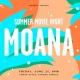 Summer Movie Night at Vinings Jubilee – Moana
