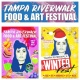 Tampa Riverwalk Food + Art Festival