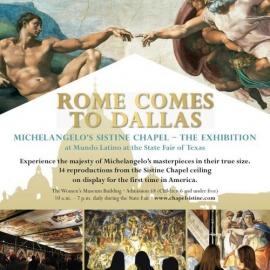 Michelangelo's Sistine Chapel – The Exhibition
